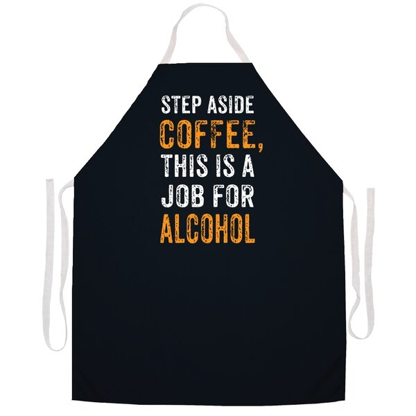Step Aside Alcohol Apron by Attitude Aprons by L.A. Imprints