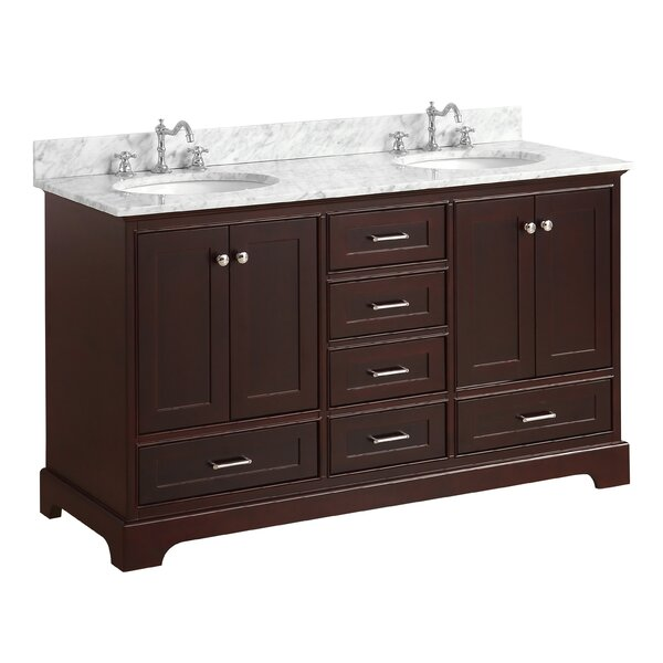 Harper 60 Double Bathroom Vanity Set by Kitchen Bath Collection