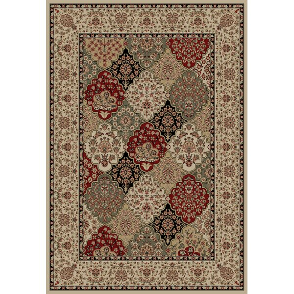 Heritage Buckingham Ivory Area Rug by Mayberry Rug