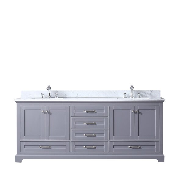 Drumgurland 80 Double Bathroom Vanity Base Only