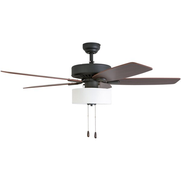 52 Harkers 5 Blade LED Ceiling Fan by Bay Isle Home