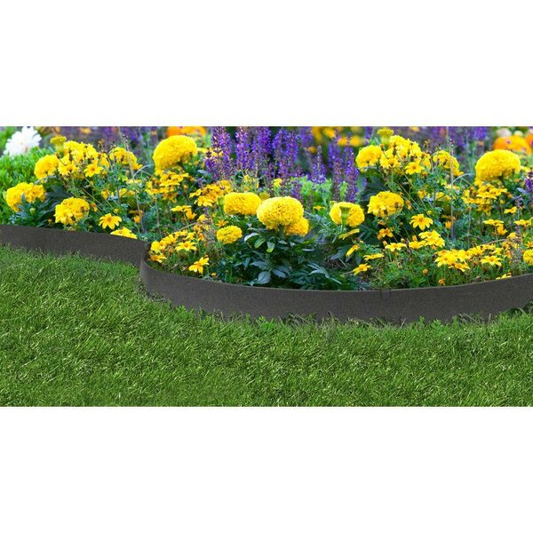 Multy Home EZ Boarder™ Thin-Line Rubber Landscape Edging by Multy Home
