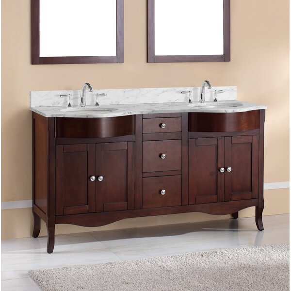 Dalian 60 Double Vanity Set by Harper Beach