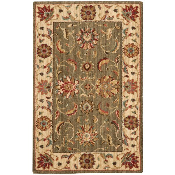 Crownover Rectangle Multi-Colored Area Rug by Darby Home Co