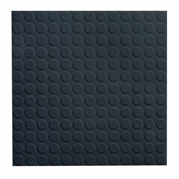 Low Profile Circular Rubber Tile by ROPPE