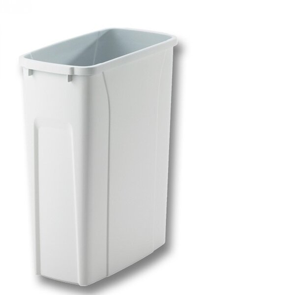 Plastic Replacement Pull Out 12.5 Gallon Trash Can by Knape&Vogt