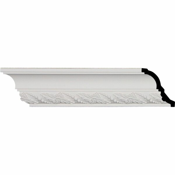Leaf Twist 3 1/4H x 95 7/8W x 2 7/8D Crown Moulding by Ekena Millwork