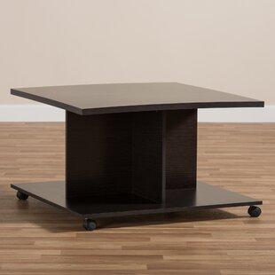 Buy clear Jacksonville Wooden Coffee Table ByEbern Designs