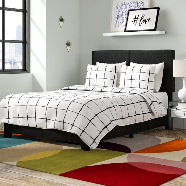New Pichardo Upholstered Standard Bed By Ebern Designs Today Sale Only
