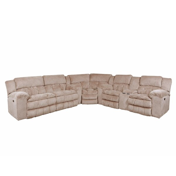 Henning Reversible Simmons Upholstery Reclining Sectional By Darby Home Co
