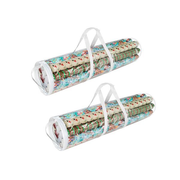 Gift Wrap Storage Bag by Rebrilliant