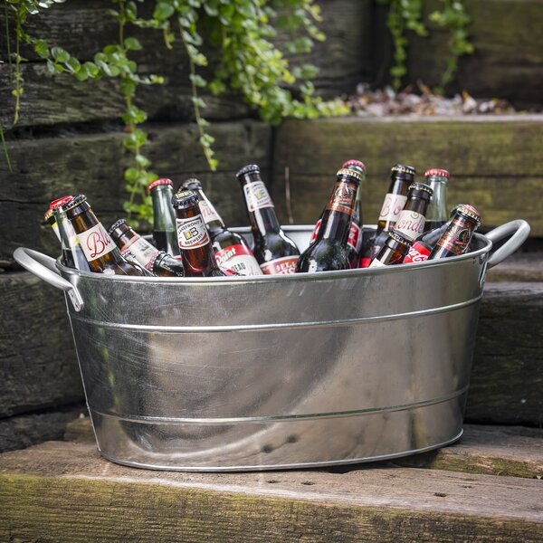 710 Oz. Galvanized Steel Beverage Tub by Tablecraf