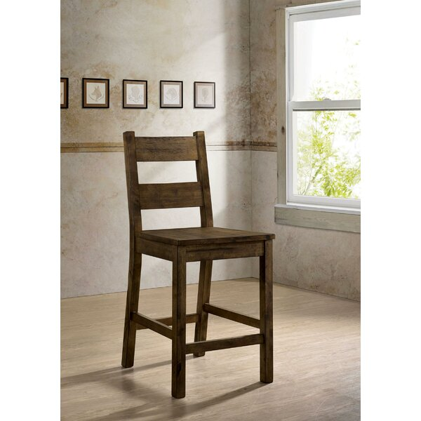 Rayburn Rustic Solid Wood Dining Chair (Set of 2) by Loon Peak