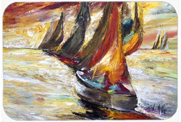 Sails Sailboat Kitchen/Bath Mat