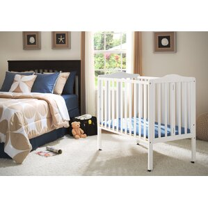 Portable Mini Crib With Mattress