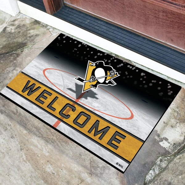 Nhl Rubber Doormat By Fanmats.