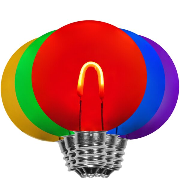 LED Flexible Filament 5 Light Bulb by The Holiday Aisle