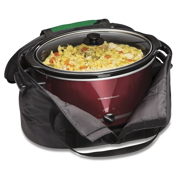 Slow Cooker Carry Bag By Hamilton Beach.