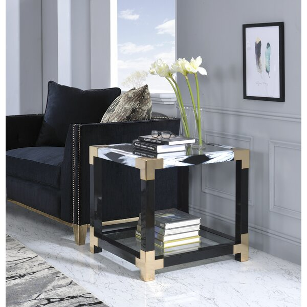 Hymel End Table by Mercer41
