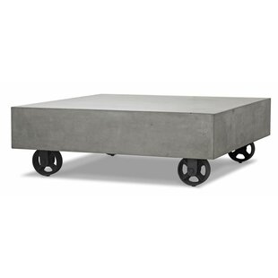 Sheree Concrete Coffee Table by 17 Stories