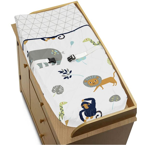 Mod Jungle Changing Pad Cover by Sweet Jojo Designs