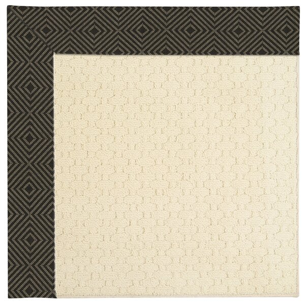 Lisle Beige Indoor/Outdoor Area Rug by Longshore Tides