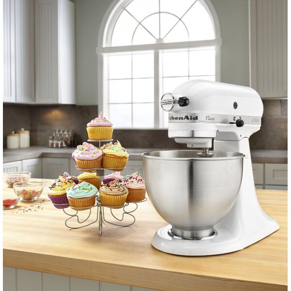 Classic Series 10 Speed 4.5 Qt. Stand Mixer - K45SS by KitchenAid