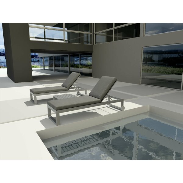 Granham Sun Lounger Set with Table
