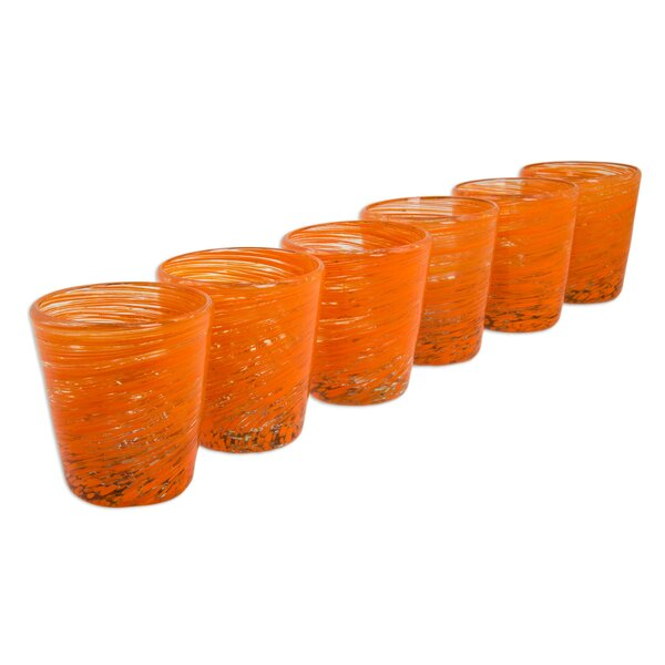 Centrifuge 8 oz. Drinkware set (Set of 6) by Novica