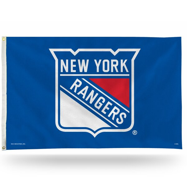 NHL Polyester 3 x 5 ft. Flag by Rico Industries Inc