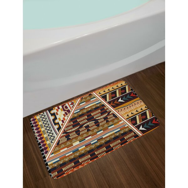 Various Tribal Bath Rug by East Urban Home