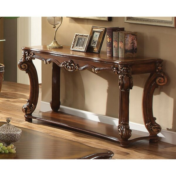 Review Upham Rectangular Console Table