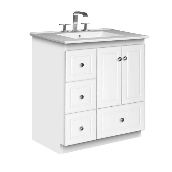 Simplicity 31 Single Bathroom Vanity Set by Strasser Woodenworks