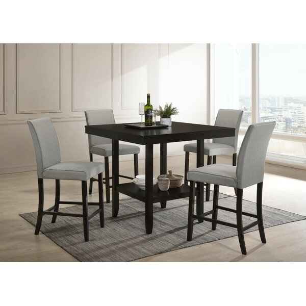 Keefe 5 Piece Dining Set by Red Barrel Studio