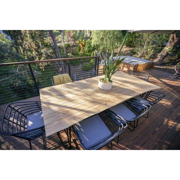 Pemberton 7 Piece Teak Dining Set with Cushions by Brayden Studio