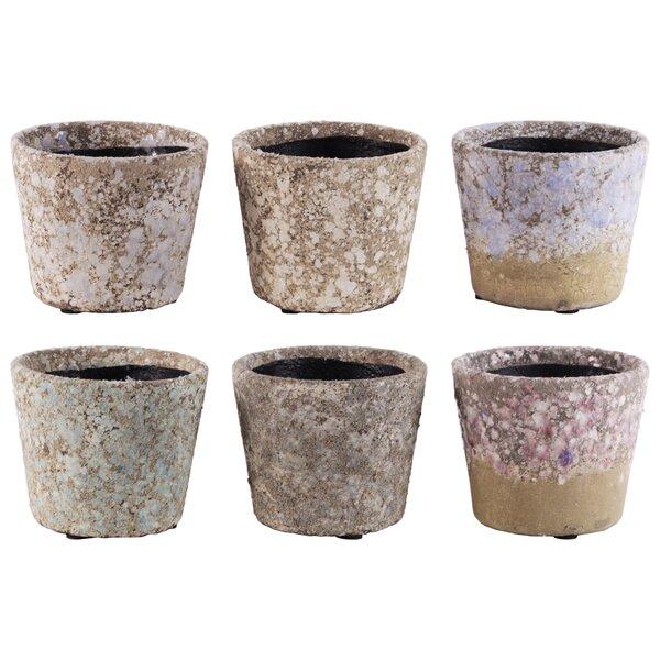 Engel Round Tapered Bottom 12 Piece Terracotta Pot Planter Set by August Grove