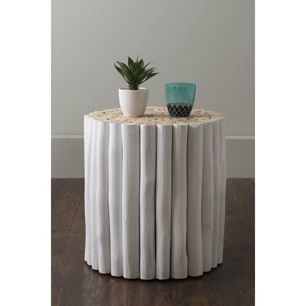 Oriana Drum End Table By Bay Isle Home