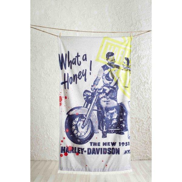 Platinum Ride High Definition Hamam Beach Cotton Blanket by Shane Bowden Home