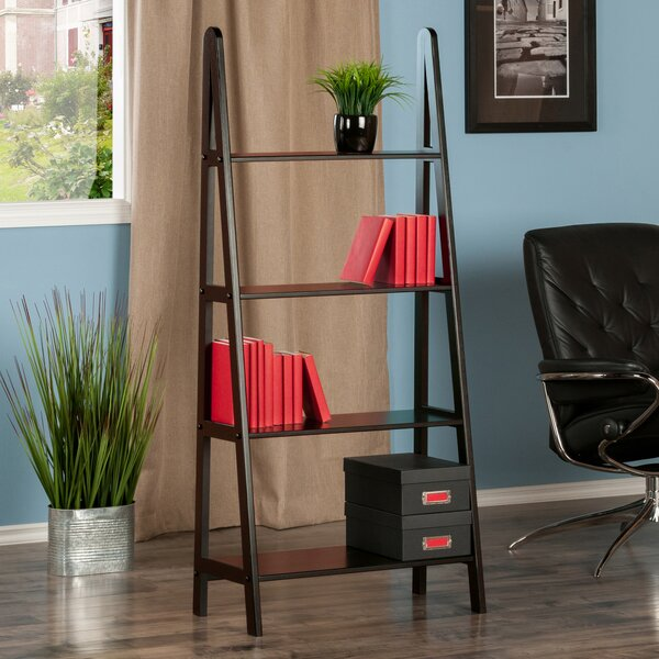 Ladder Bookcase by Winsome