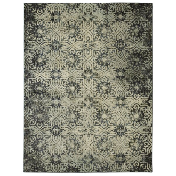 Cloisters Grey/Blue Area Rug by Patina Vie