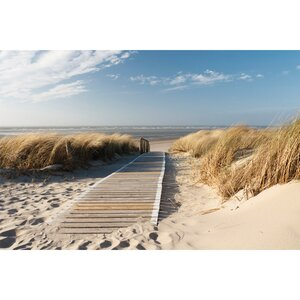 'Outdoor Access' Photographic Print on Canvas by Beachcrest Home
