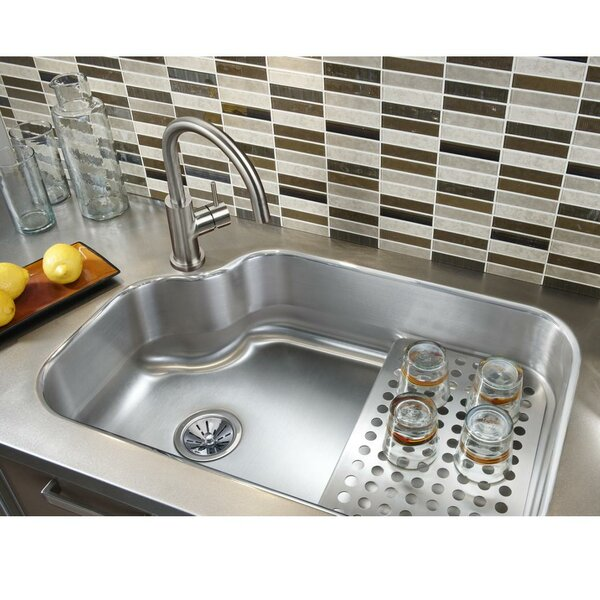 Lustertone 32 L x 21 W Undermount Kitchen Sink with Bottom Grid by Elkay