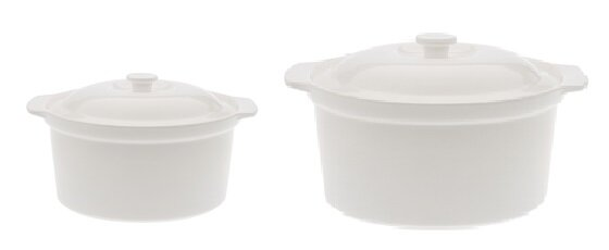 Bakeware 2-Piece Round Casserole Set by Maxwell & Williams