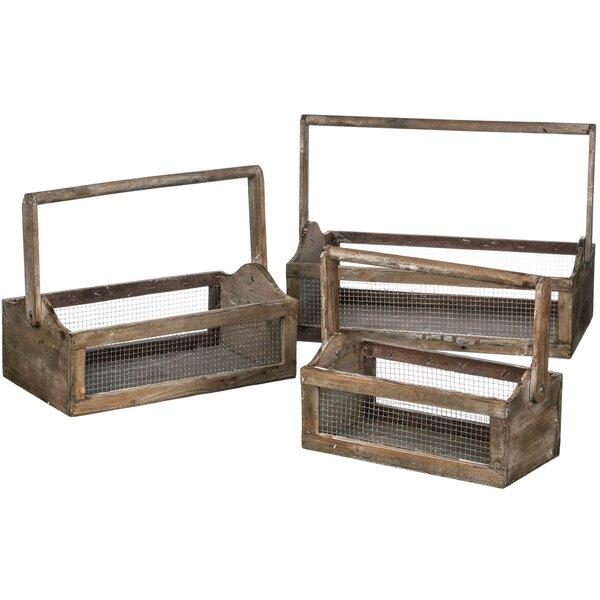 Belves 3 Piece Wood Planter Box Set by Gracie Oaks