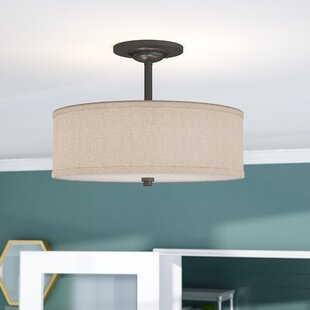 Inexpensive Havens 3-Light Semi Flush Mount By Brayden Studio