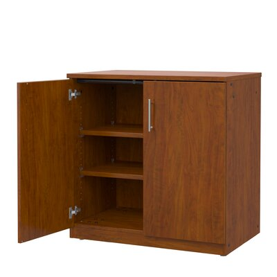 Mobile CaseGoods 2 Door Accent Cabinet Marco Group Inc. Color: Black
