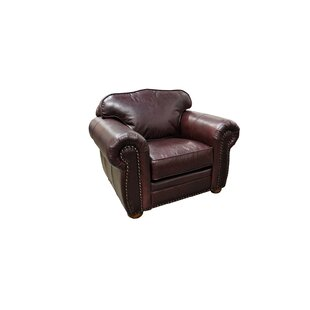 Monte Carlo Club Chair by Omnia Leather
