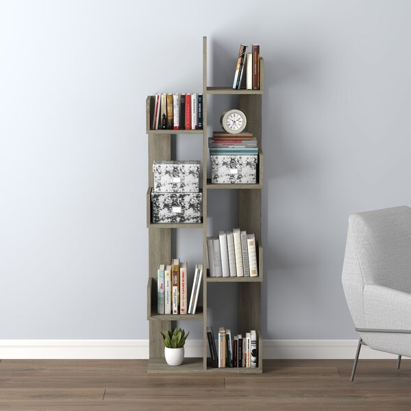 Poteet Geometric Bookcase By Foundry Select