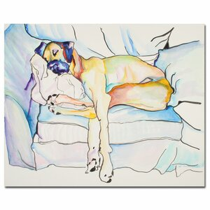 'Sleeping Beauty' Painting Print on Canvas by Trademark Fine Art