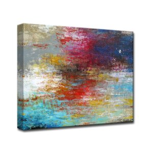 'Strange Currents' by Norman Wyatt Jr. Framed Painting Print by Ready2hangart